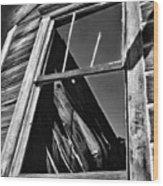 Window But No Roof Wood Print