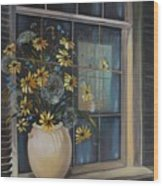 Window Dressing - Lmj Wood Print