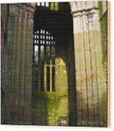 Window Entrance Wood Print