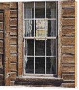 Window In A Window Wood Print