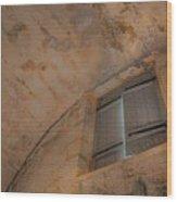 Window In Castillo De San Marcos Wood Print