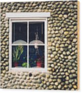 Window In Nova Scotia Wood Print