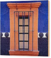 Window In San Miguel De Allende Wood Print