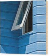 Window In The Corner In St Lucia Wood Print