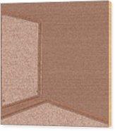 Window In The Empty Room 2-2 Wood Print