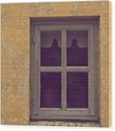 Window Wood Print by Odd Jeppesen