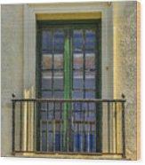 Window Of Amelia Wood Print