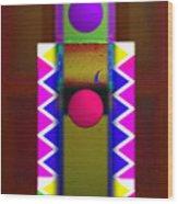 Window On The Nile 3 Wood Print