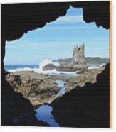 Window On The World Wood Print
