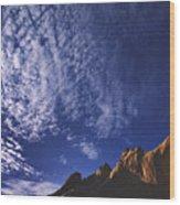 Window Rock, Arizona Wood Print by Dawn Kish