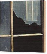 Window. Wood Print