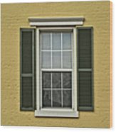 Window Style Wood Print