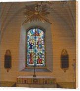 Window Teda Church Wood Print