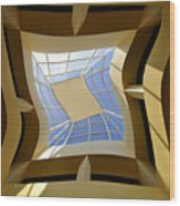 Window To Another Dimension Wood Print