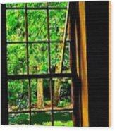 Window To My World Wood Print