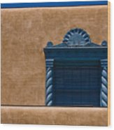Window To Sante Fe Wood Print