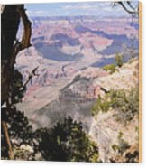 Window To The Past 1 - Grand Canyon Wood Print
