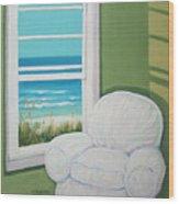 Window To The Sea No. 2 Wood Print