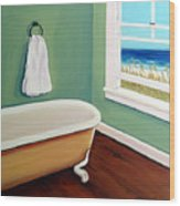 Window To The Sea No. 4 Wood Print