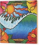 Window To The Tropics Wood Print