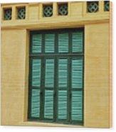 window to Vietnam Wood Print