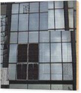 Window Washed Wood Print