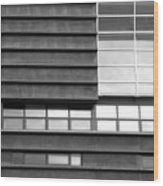 Windows 01 Wood Print