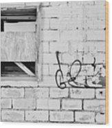 Windows And Tags Wood Print
