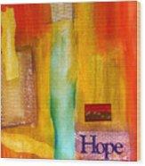 Windows Of Hope Wood Print