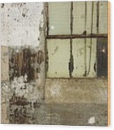 Windowsquares Wood Print