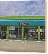 Winds Of Ft Myers II Wood Print