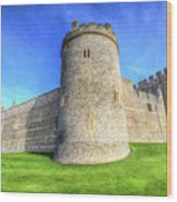 Windsor Castle Battlements  Wood Print