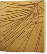 Windswept - Tile Wood Print
