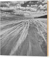 Windswept Benone Wood Print