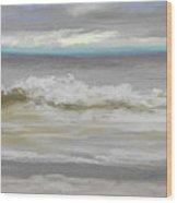 Windy Hill Beach - Myrtle Beach, Sc Wood Print