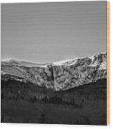 Windy Ridge Wood Print