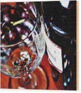 Wine And Dine 1 Wood Print