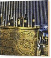 Wine Bazaar Wood Print
