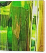 Wine Bottles 21 Wood Print
