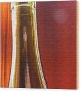 Wine Bottles 4 Wood Print