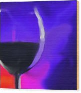 Wine Burst Wood Print