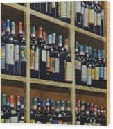Wine Closet Wood Print