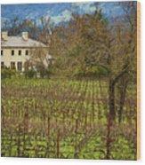 Wine Country California 1 Wood Print