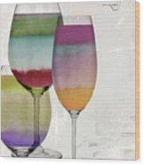 Wine Prism Wood Print