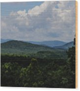 Winery Hlils Wood Print