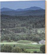 Winery Wood Print