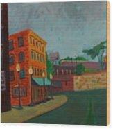 Wingate Street Wood Print