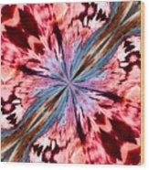 Winged Mite Wood Print