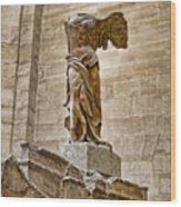 Winged Victory Wood Print by Jon Berghoff