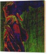 Winged Victory Wood Print by Susie Weaver